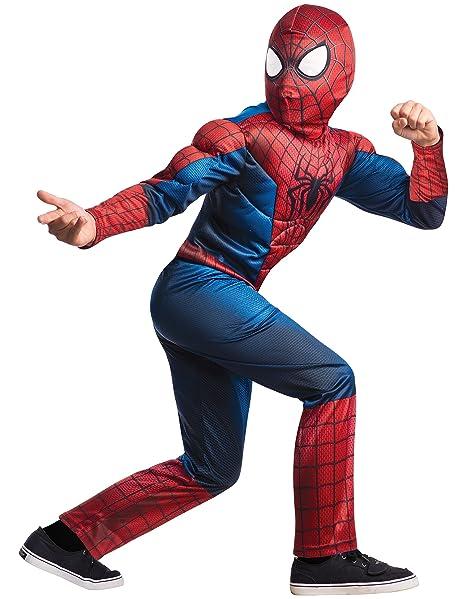 Rubieu0027s Marvel Comics Collection Amazing Spider-man 2 Deluxe Spider-man Costume  sc 1 st  Amazon.com & Amazon.com: Rubieu0027s Marvel Comics Collection Amazing Spider-man 2 ...