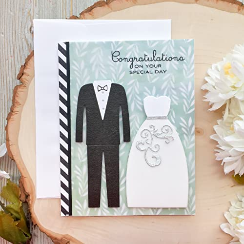 Amazon Com Handmade Wedding Card Congratulations Card Wedding