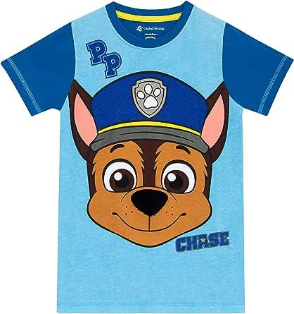 Paw Patrol Boys' Paw Patrol Chase T-shirt Size 7
