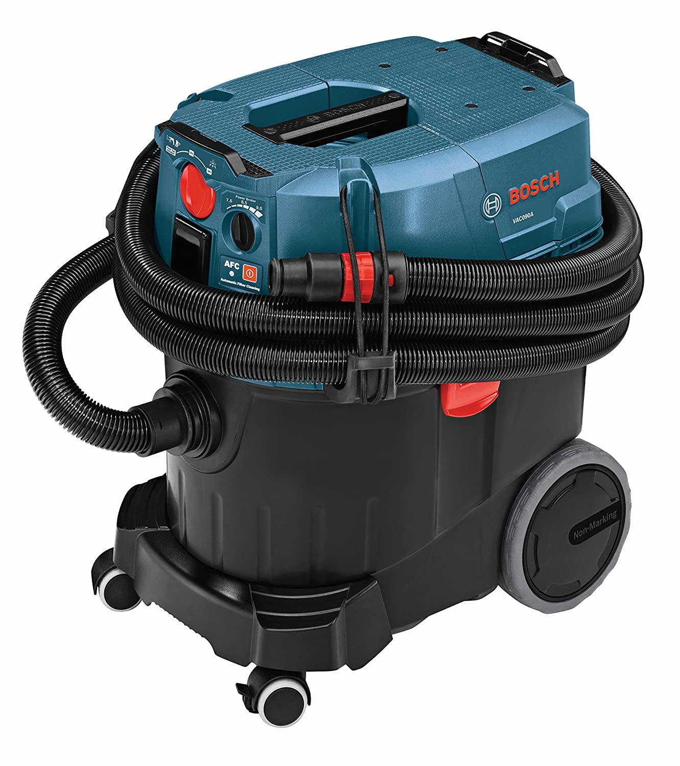 Bosch 9 Gallon Dust Extractor with Auto Filter Clean and HEPA Filter VAC090AH