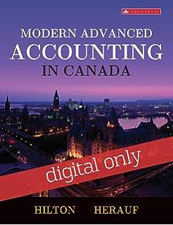 Modern advanced accounting in canada, fifth edition: murray hilton.