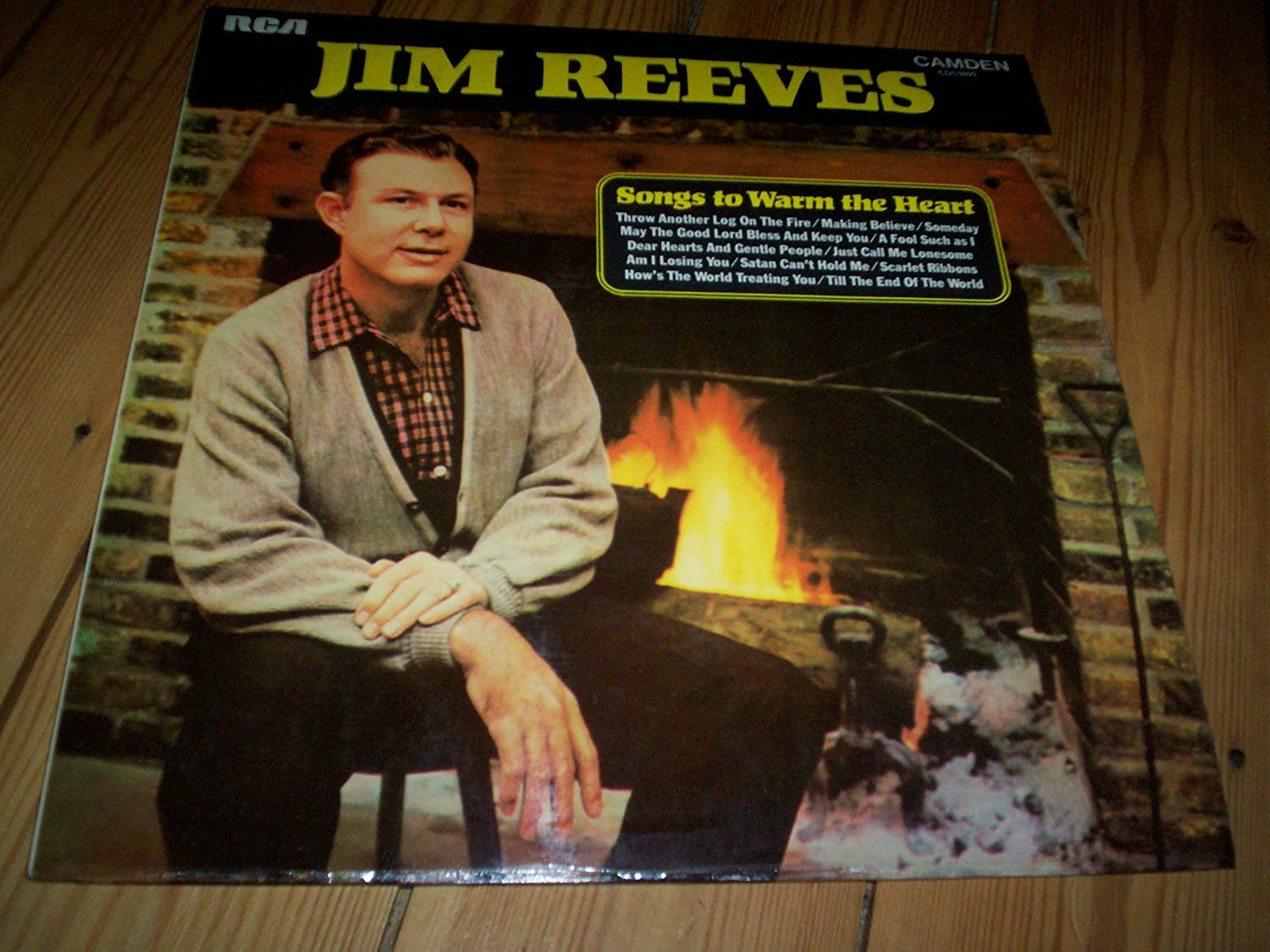 LP RECORD RCA JIM REEVES SONGS TO WARM THE HEART: Amazon.co.uk ...