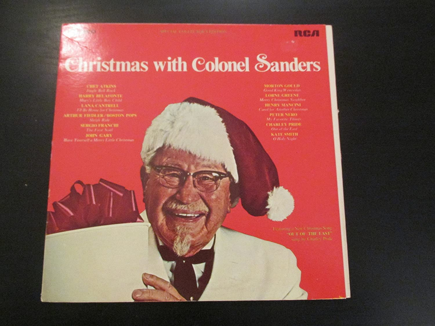 Colonel Sanders, Lorne Greene, Harry Belafonte, Kate Smith, Charley ...