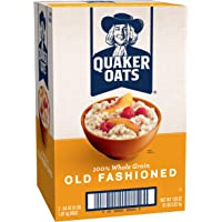 Quaker Oats Old Fashioned Oatmeal Breakfast Cereal (128 Ounces)