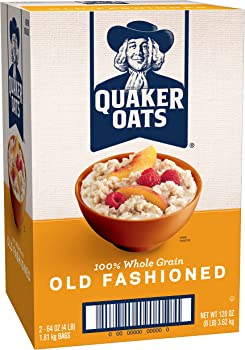 Quaker Oats Old Fashioned Oatmeal Breakfast Cereal