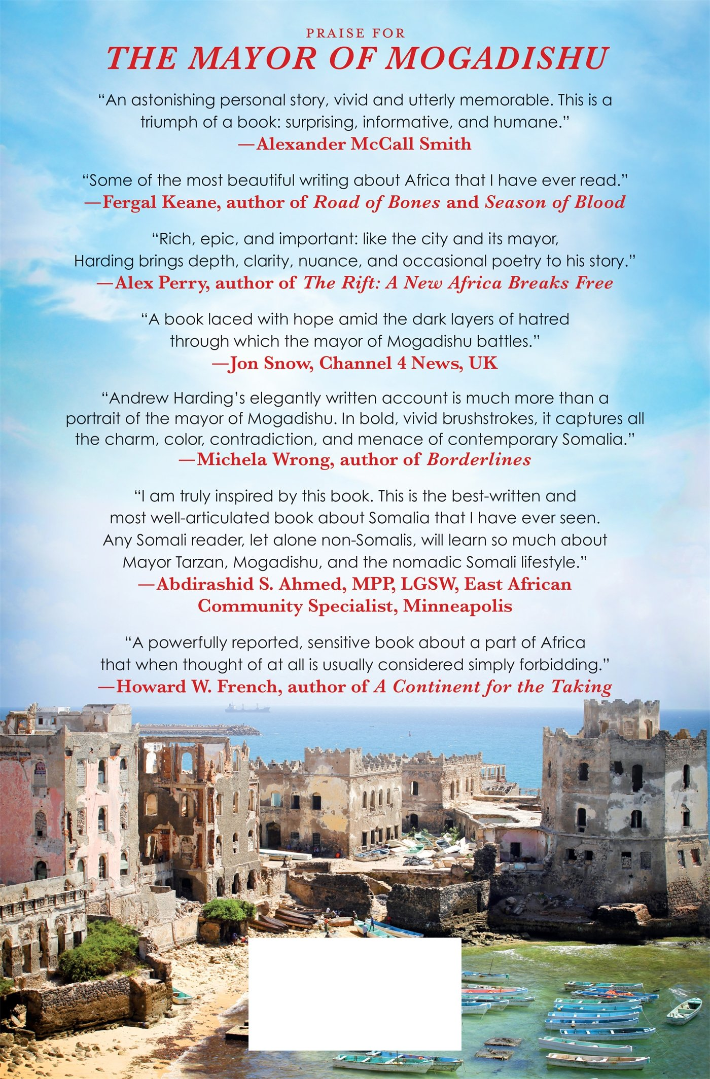 The Mayor Of Mogadishu: A Story Of Chaos And Redemption In The Ruins Of  Somalia: Andrew Harding: 9781250072344: Amazon: Books