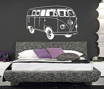 Amazon.com: VW Camper Van, arte de pared, mural, gigante ...