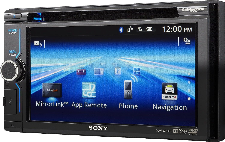 Amazon.com: Sony XAV602BT 6.1-Inch Bluetooth AV Receiver with App ...