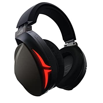 ASUS Rog Strix Fusion 300 Gaming Headset with 50 mm Essence Drivers and 7 1  Surround Sound - Black