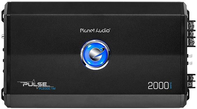 planet audio pl2000 1m pulse 2000 watt, 2 ohm stable class a b, monoblock, mosfet car amplifier with remote subwoofer control  planet audio ac2000 2 wiring diagram #10