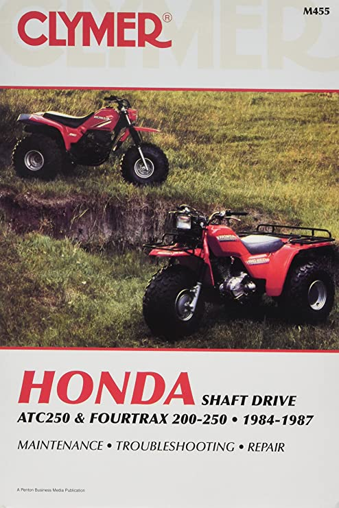 amazon com clymer m455 repair manual automotive rh amazon com 1987 honda trx250x service manual pdf 1987 honda 250x owners manual