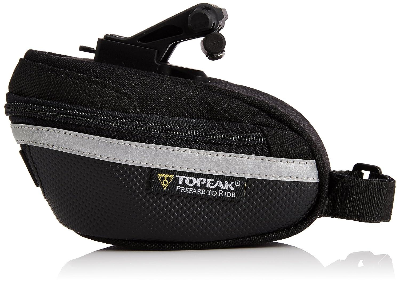 15000210 TOPEAK Wedge Pack II Satteltasche Fahrrad Inkl Halterung QuickClick Sattelst/ütze Kompakt