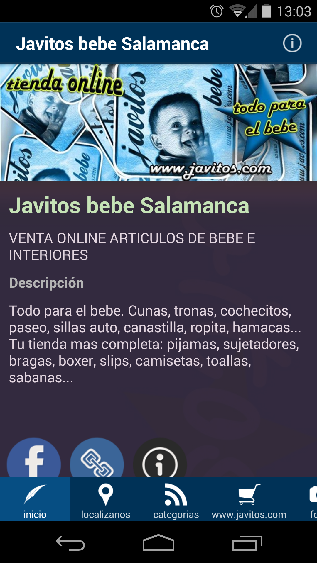 Amazon.com: javitos bebe Salamanca: Appstore for Android