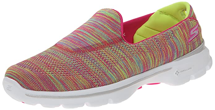 aee214b543e Amazon.com   Skechers Performance Women's Go Walk 3 Fitknit Extreme Slip-On  Walking Shoe   Walking
