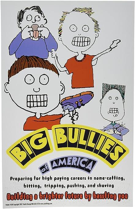 Amazoncom Poster 100 Anti Bullying Poster Stop Bullies
