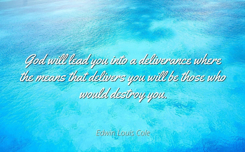 Amazon.com: Home Comforts Edwin Louis Cole   Famous Quotes