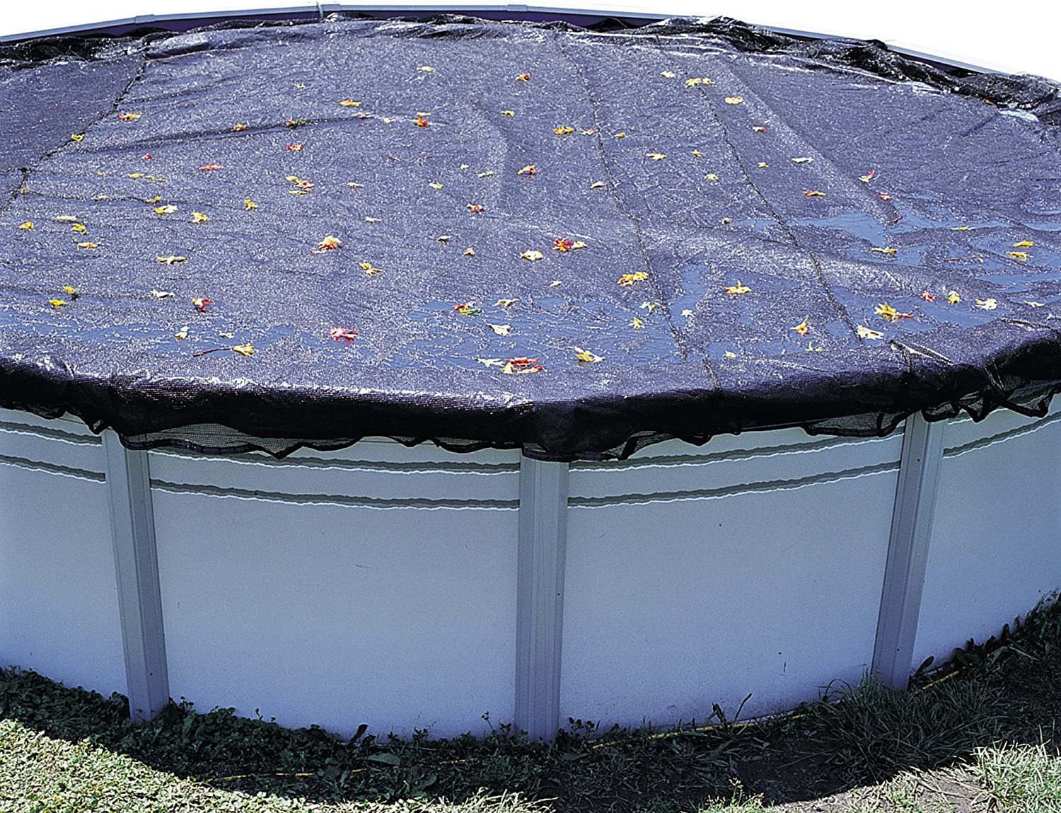 In The Swim 18 Foot Round Above Ground Pool Leaf Net Cover : Swimming Pool Covers : Garden & Outdoor