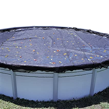 In The Swim Swimline 21 Foot Round Above Ground Swimming Pool Leaf Net Top  Cover | CO921