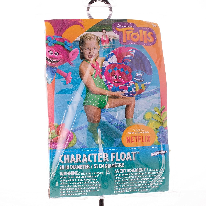 Amazon.com: SW Dreamworks Troll personaje flotador: Toys & Games