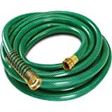 Garden Hose 4-Ply - Garden Hose Quick Connect - No Kink Garden Hose - Crimp Free Garden Hose - By Utopia Home (Small - 25ft.)