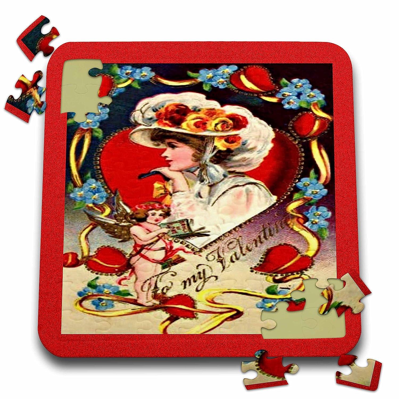 Vintage Valentine Designs - Vintage Valentine Day Lady