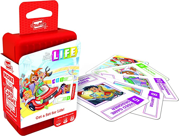 Shuffle Juego de Cartas Game of Life: Amazon.es: Juguetes y juegos