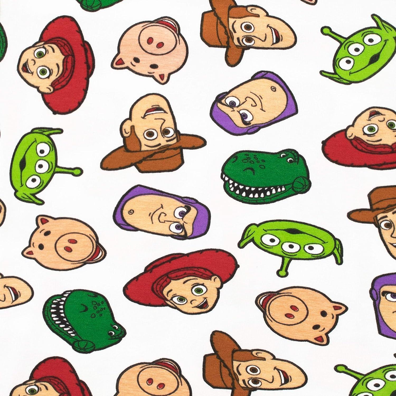 Disney Pigiama a Maniche Corte per Ragazzi Toy Story Il Mondo dei Giocattoli