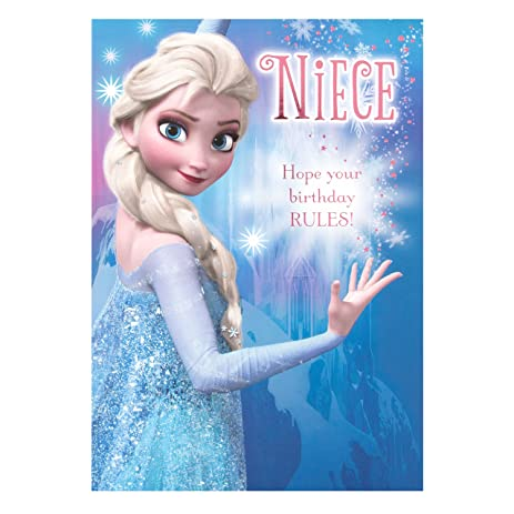 Amazon Hallmark Disney Frozen Elsa Niece Birthday Card Youre