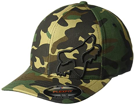 df9fc8b26ab28 Amazon.com  Fox Men s Flex 45 Flexfit Hat  Clothing