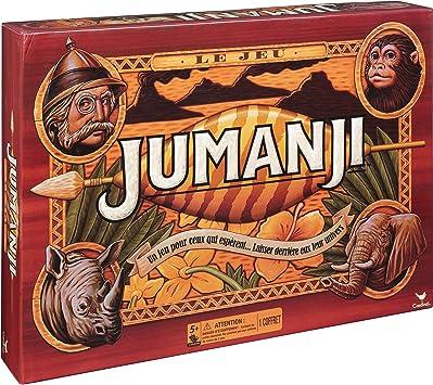 Cardinal Games 6045933 Jumanji - Juego de Mesa Retro: Amazon.es: Juguetes y juegos