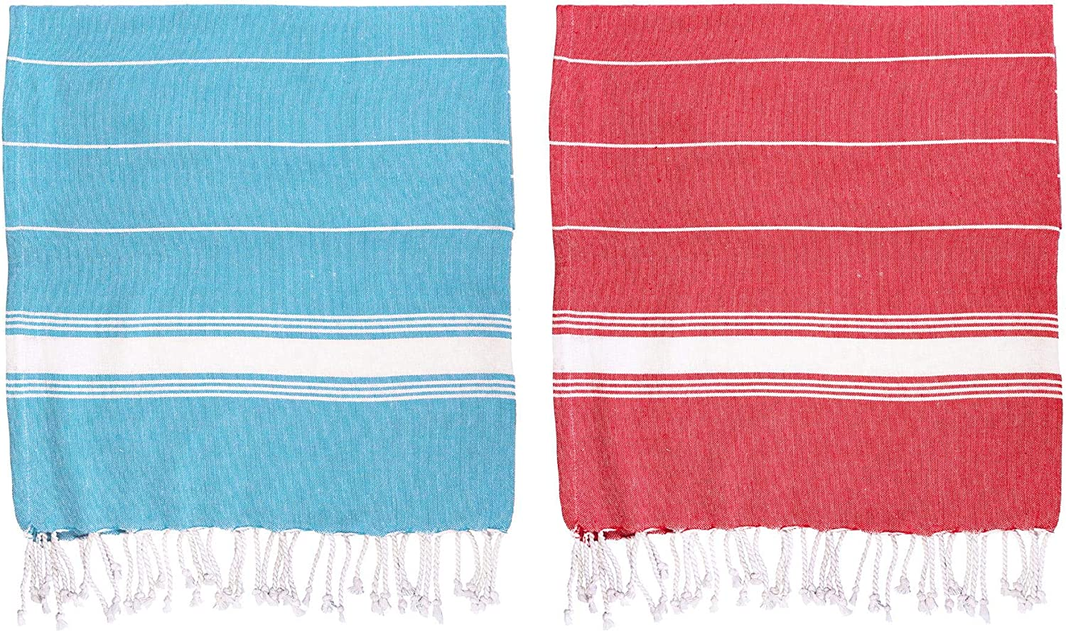 Bath Hammam Peshtermal Towel Turkish Beach Traditional Design 100/% Cotton Set of 5 Different Colours