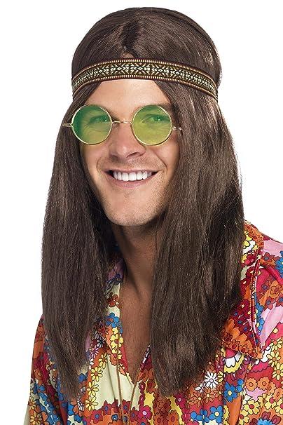 Amazon.com: Smiffy s de los hombres Hippy Kit, talla única ...