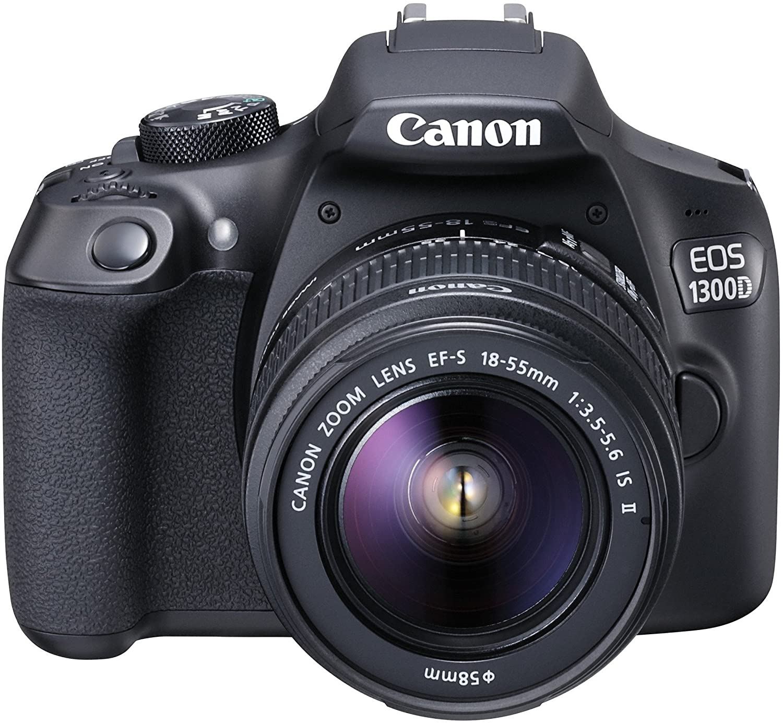 Canon EOS 1300d/Rebel T6/Kiss X80 18 - 55/3.5 - 5.6 EF-S IS II ...