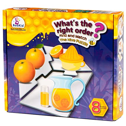Find And Match Toddlers Puzzle Games Whats The Right Order. For 5+ Years Old