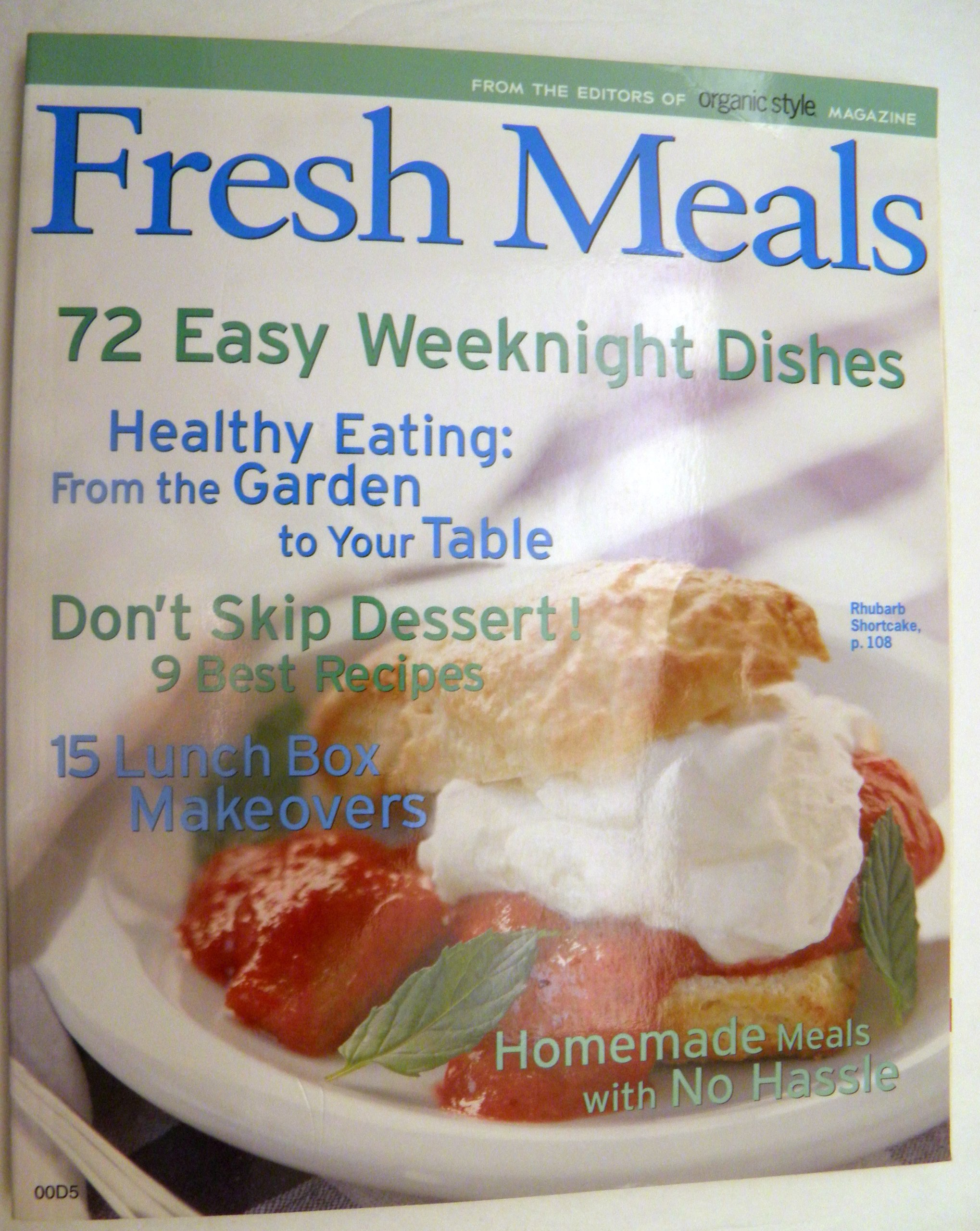 Download Fresh Meals From the Editors of Organic Style Magazine PDF
