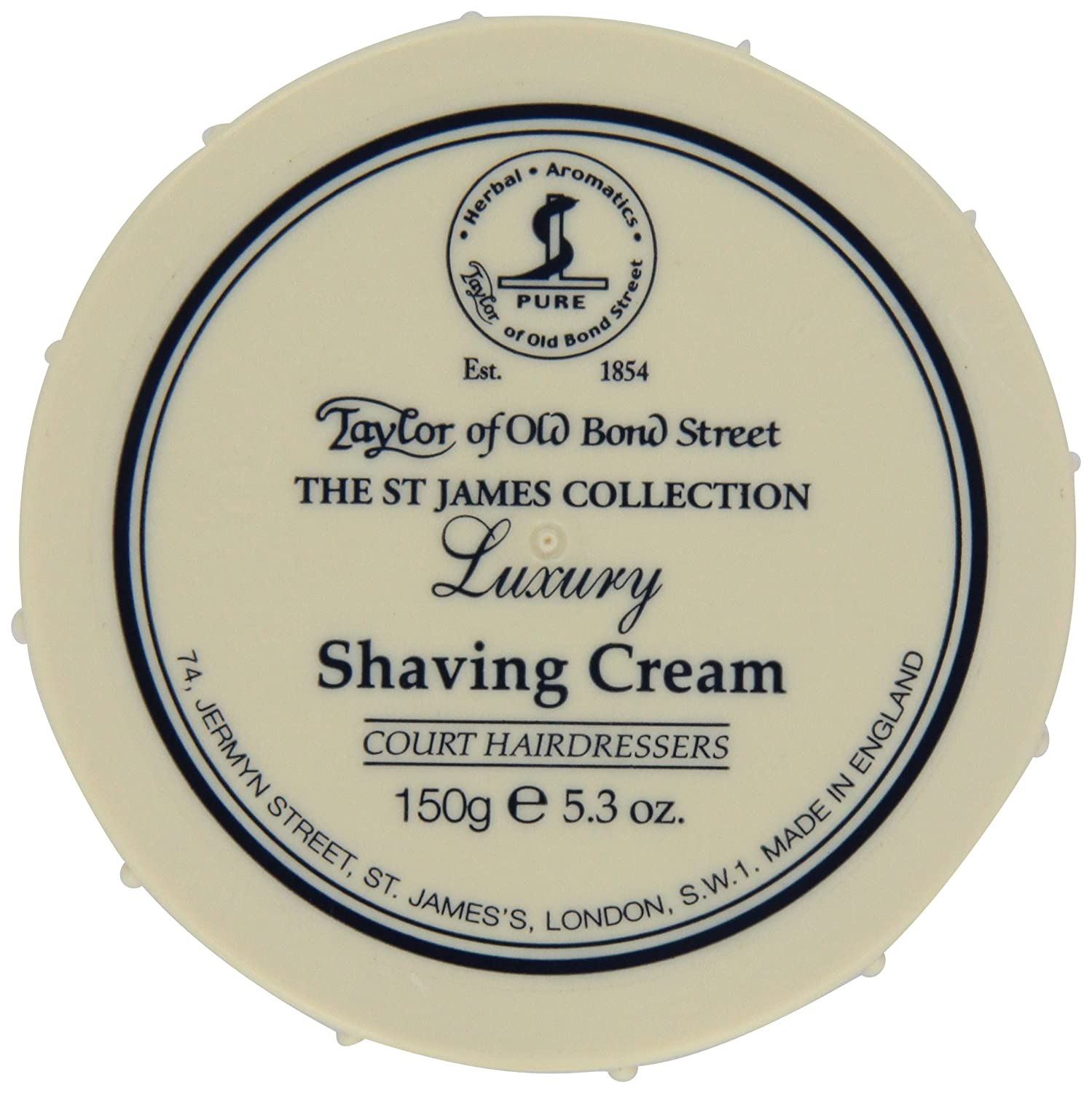 Taylor of Old Bond Street St. James Shaving Cream Bowl, 5.3 Ounce 01015