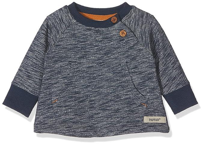 Papfar Langarmshirt Single Jersey Gots Camiseta de Manga Larga para Beb/és