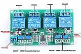 KNACRO DC 12V 4-Channel Voltage Comparator