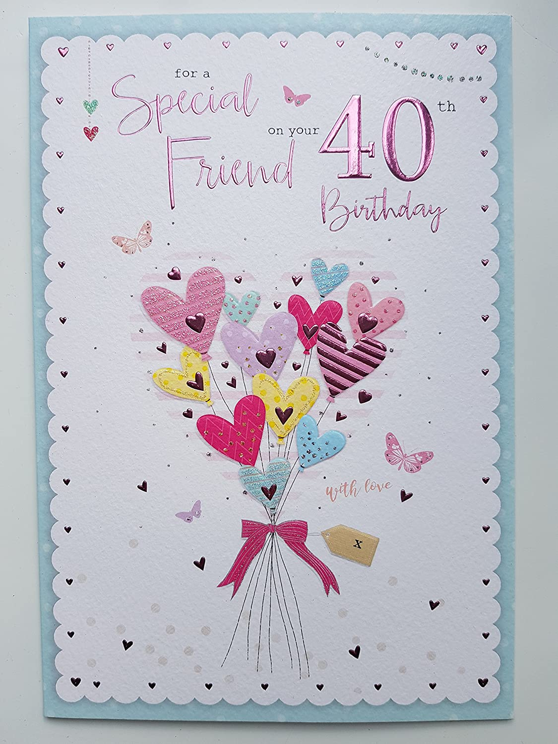 Wondrous Special Friend On Your 40Th Birthday Birthday Card Stylish Funny Birthday Cards Online Inifodamsfinfo