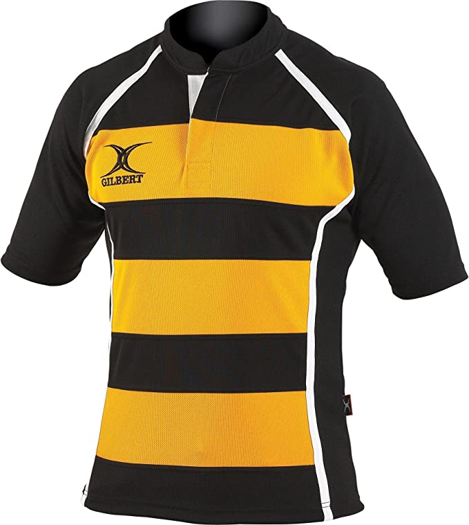 Gilbert Rugby - Camiseta de Manga Corta de Rugby Modelo Xact para ...