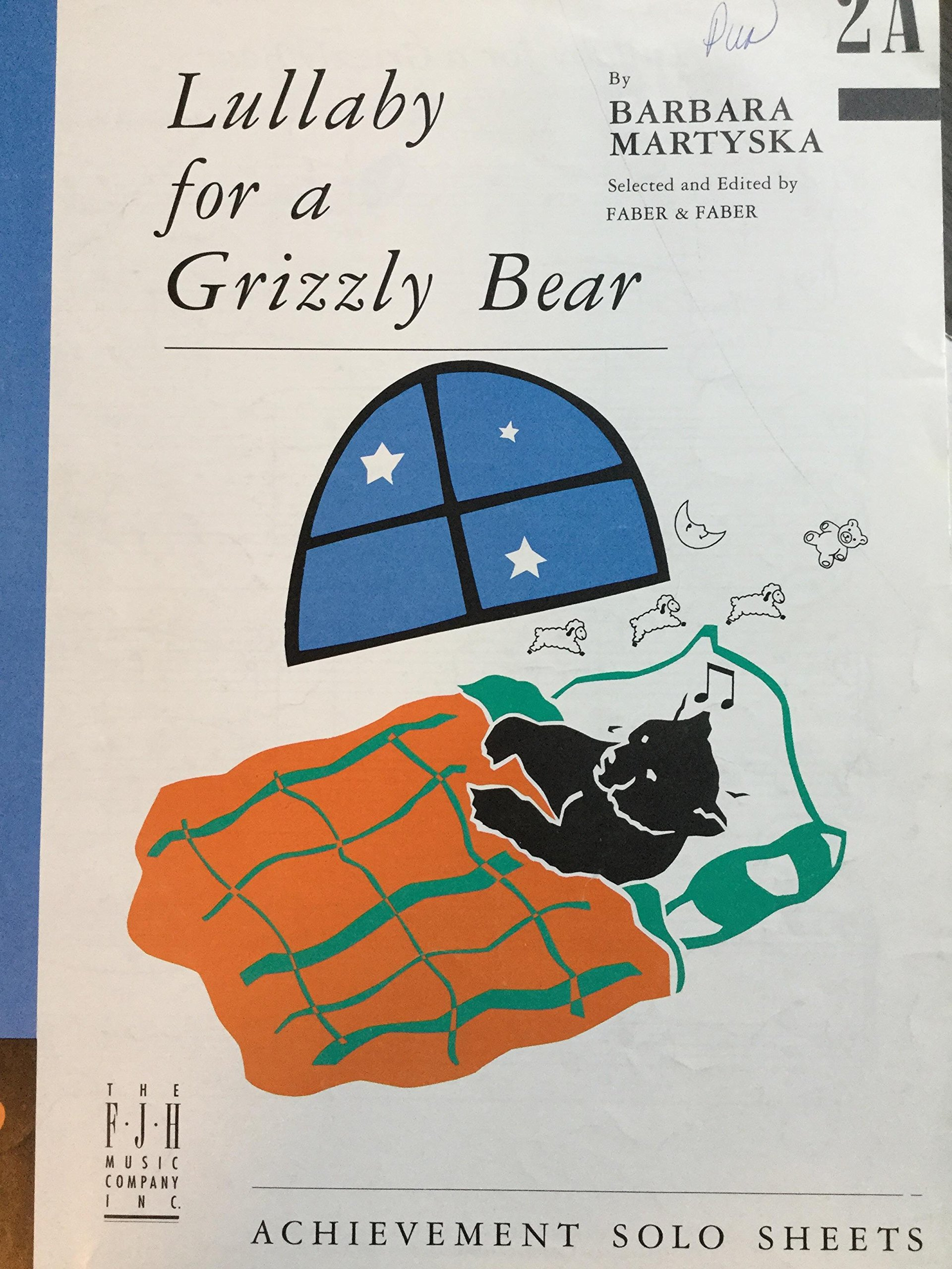 PDF Grizzly Lullaby