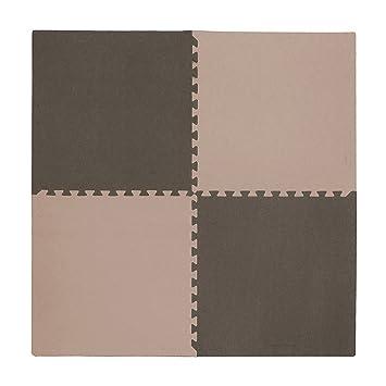 Tadpoles 4 Piece Playmat Set, Taupe/Brown