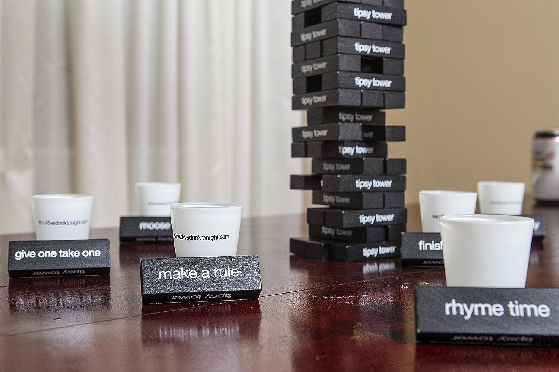 Tipsy Tower Drinking Game by: Amazon.es: Juguetes y juegos
