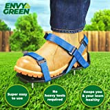 EnvyGreen Lawn Aerator Shoes - One-Size-Fits-All