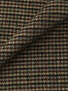 Cashmere Scarf 1336-699-3272: Beige Houndstooth