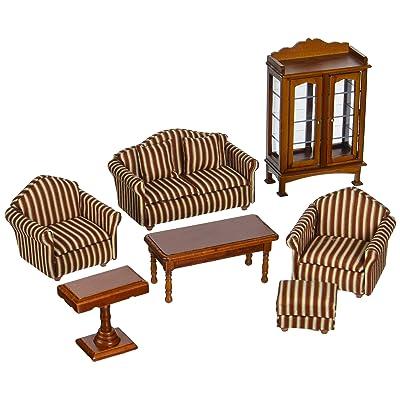 Melissa & Doug Doll-House Furniture- Living Room Set: Melissa & Doug: Toys & Games