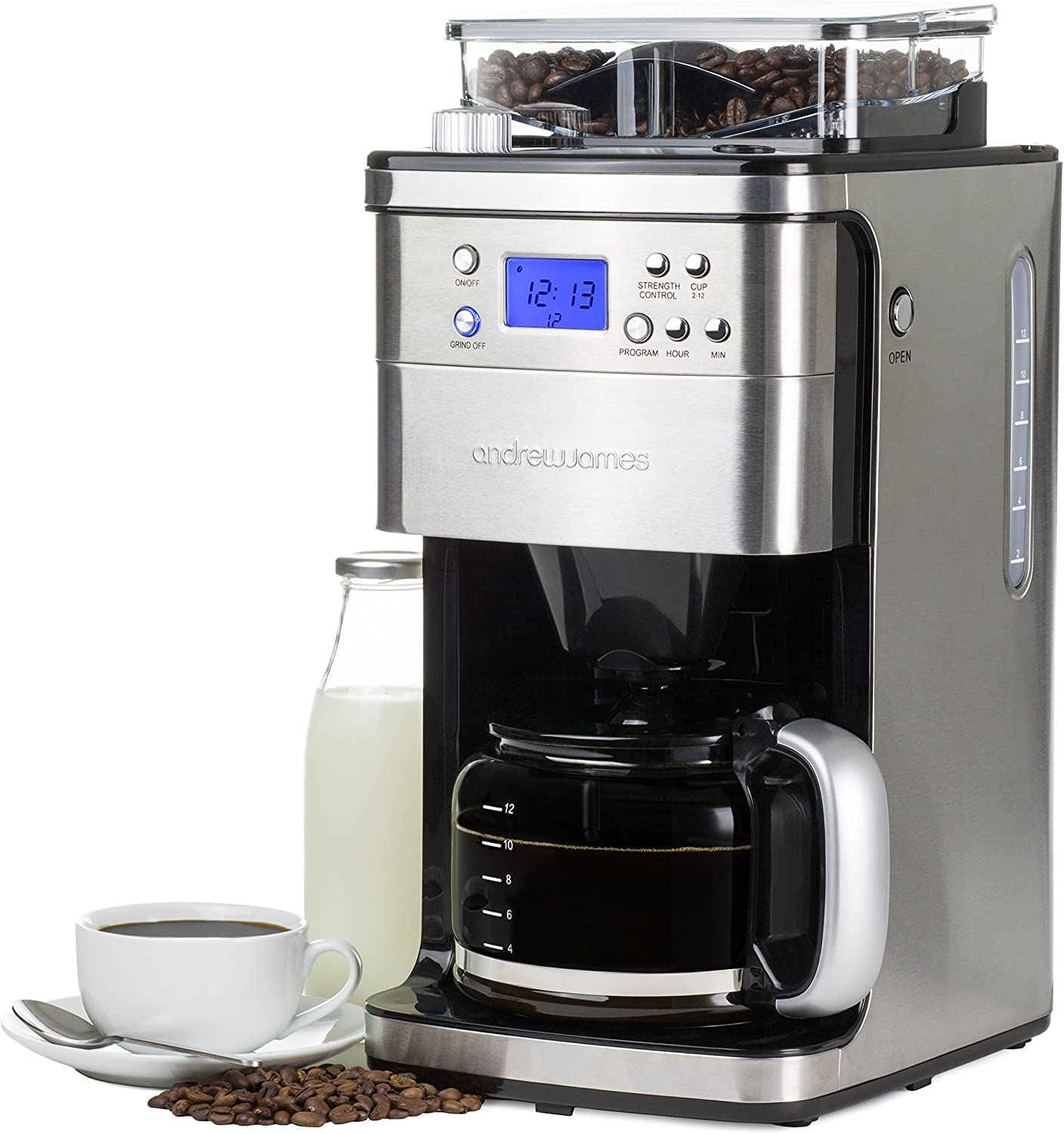 Andrew James Programmable Filter Coffee Machine With