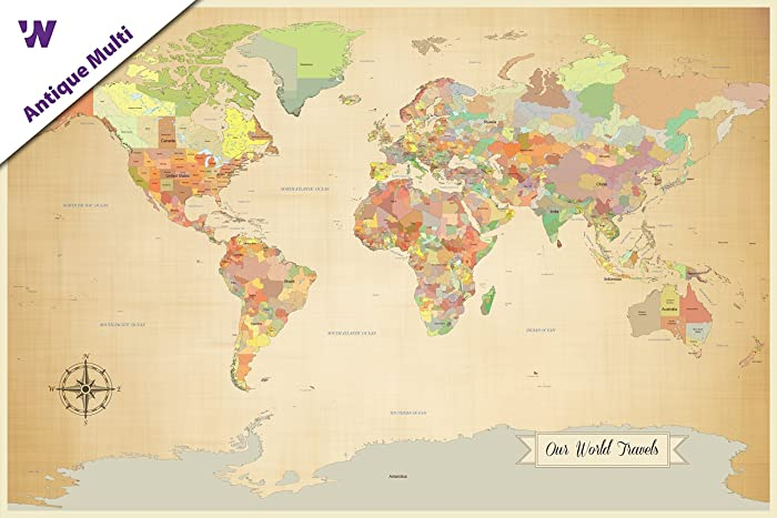 Amazon sale push pin world map world map with pins paper sale push pin world map world map with pins paper anniversary world sciox Choice Image