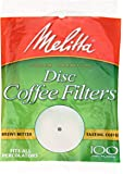 "Melitta Disc Coffee Filter, 3.5"", 100 ct"
