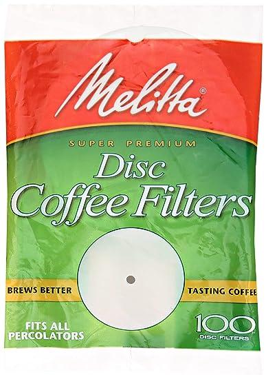 "melitta disc coffee filter, 3.5"", 100 ct: .com: grocery ..."